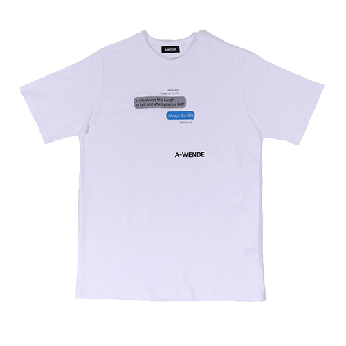 message T-shirt