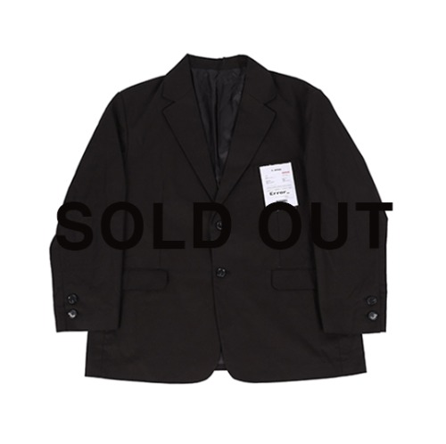 90s 슈트 자켓 (90s over Suit jacket) / black   sold out