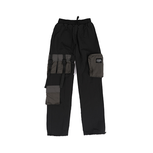 NYLON STRING PANTS (나일론 스트링 팬츠) / Dark Grey