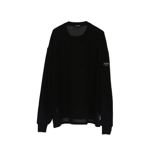 AWENDE Long sleeve (롱 슬리브) / BLACK