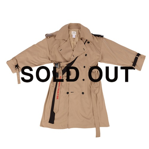 SEASON OFF 40%  OVER TRENCH COAT  / BROWN