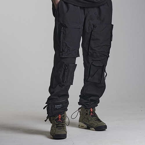 Backpocket Pants  / black / 소량입고